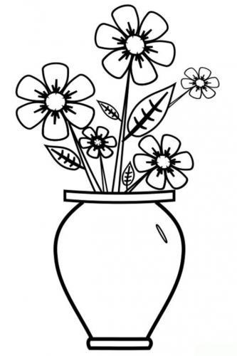 disegni fiori da stampare