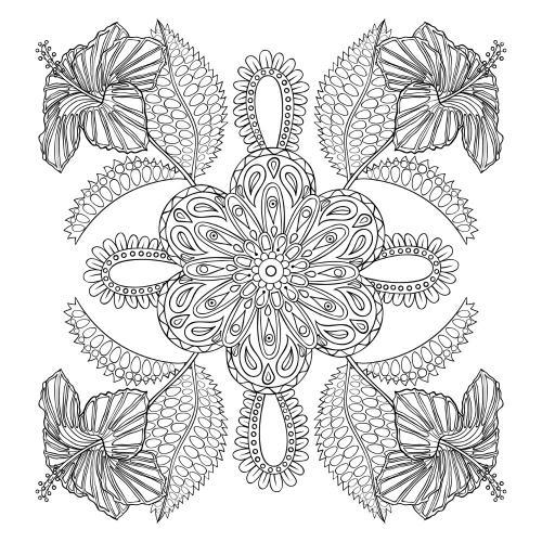 disegni fiori stilizzati