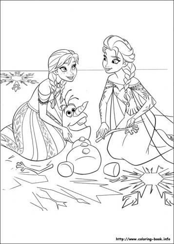 Frozen Il Regno Di Ghiaccio 74 Immagini Da Stampare E Colorare