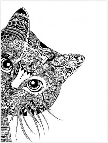 disegni gatti stilizzati