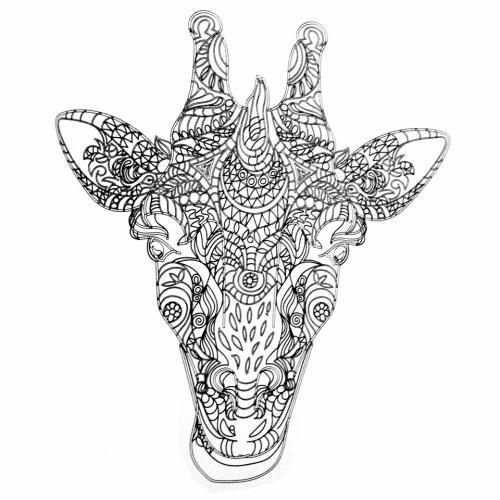 disegni giraffe simpatiche pdf