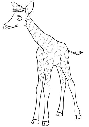 disegni giraffe