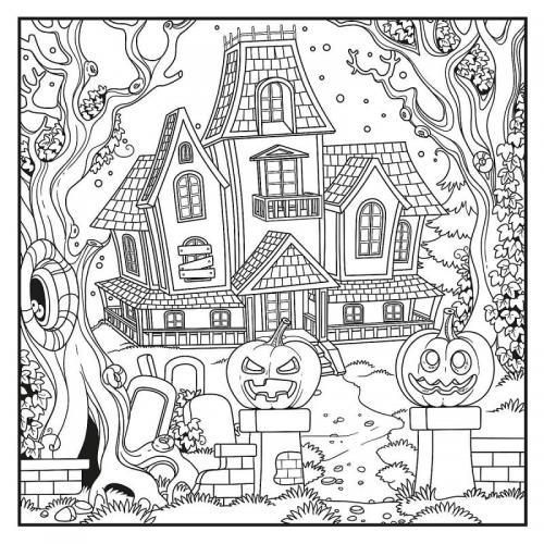 immagine della casa stregata