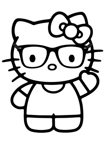 disegni hello kitty da colorare gratis