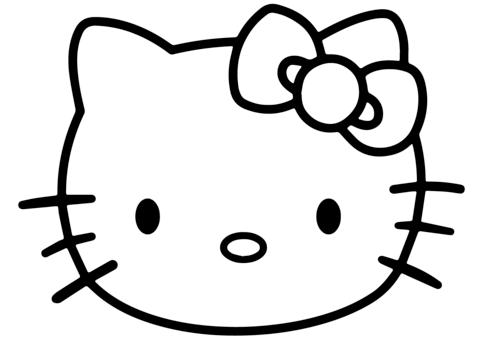 disegni hello kitty da colorare per bambini