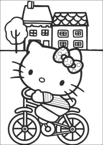 disegni hello kitty