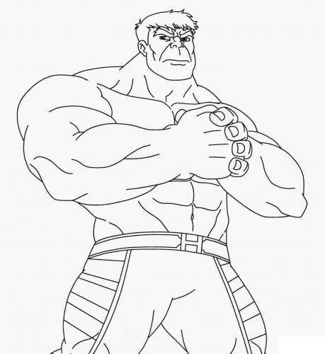 disegni hulk