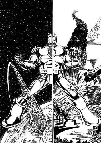 disegni Iron Man