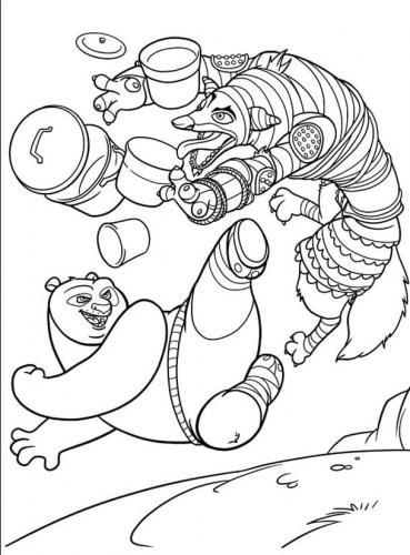 disegni Kung Fu Panda