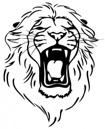 disegni leone