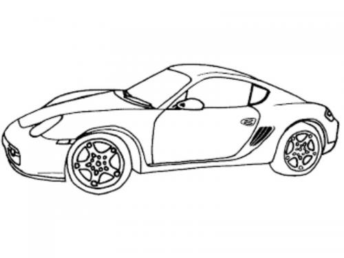 disegni macchine sportive