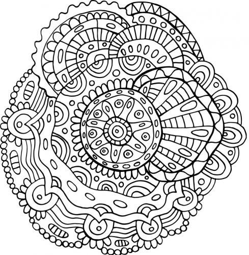 disegni mandala da colorare e stampare
