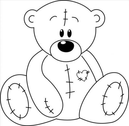 disegni orsetti per bambini
