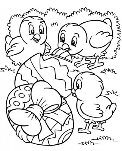 disegni pasquali da stampare