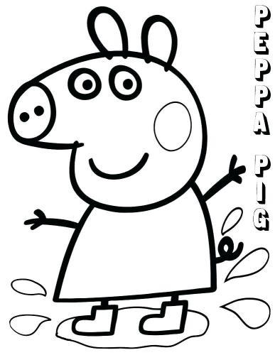 disegni peppa pig