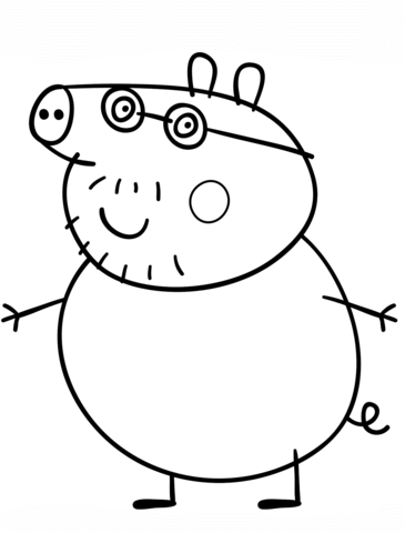 disegni peppa pig da colorare