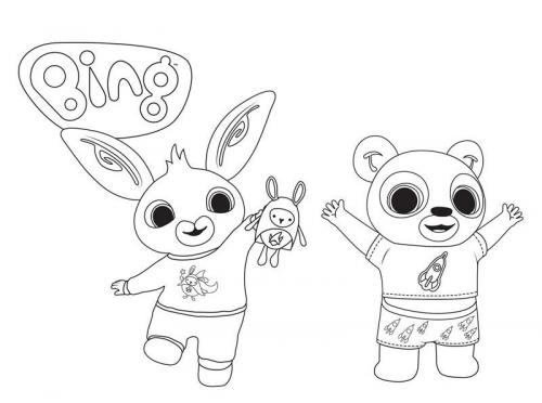 disegni per bambini da colorare bing