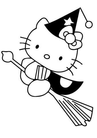 disegni per bambini da colorare hello kitty