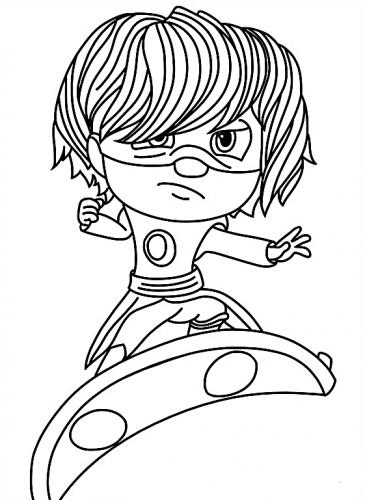 disegni per bambini da colorare super pigiamini