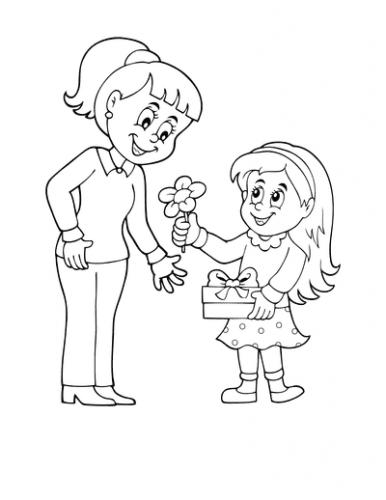 disegni per la festa della mamma bellissimi