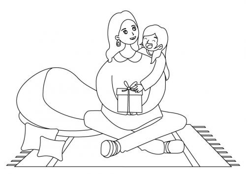 disegni per le mamme