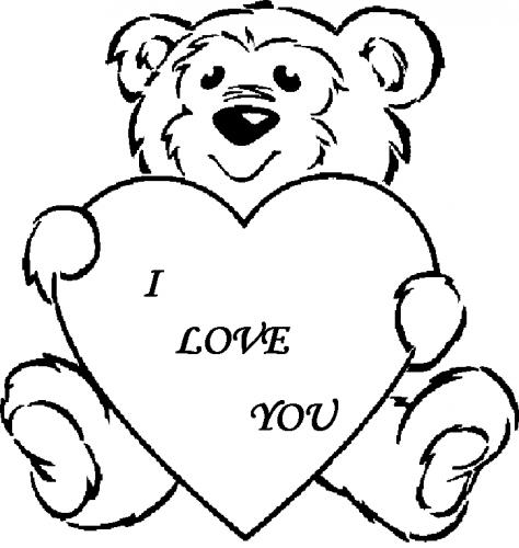 disegni per san valentino da stampare