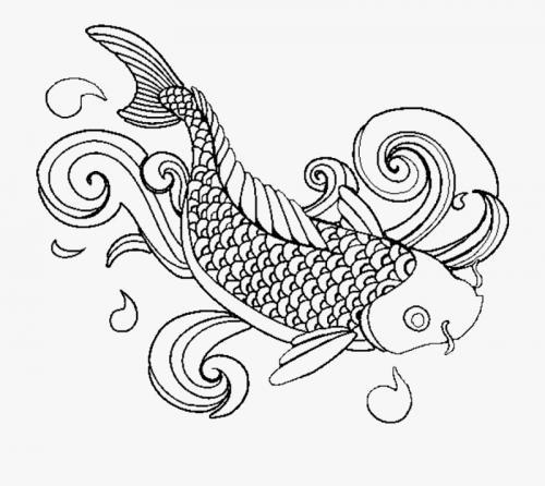 pesciolino stilizzato