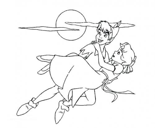 Peter fa volare Wendy