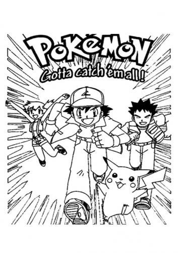 disegni Pokémon da stampare e colorare