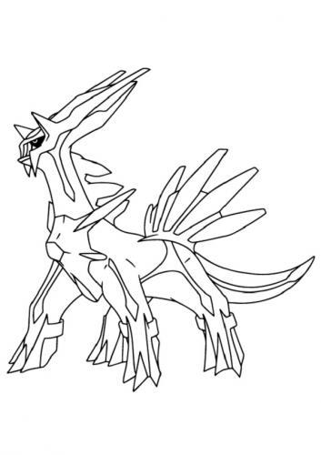 disegni Pokémon Leggendari