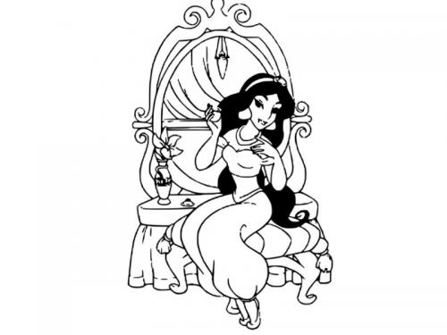Jasmine allo specchio