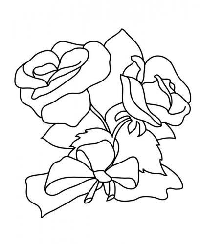 immagine di due rose