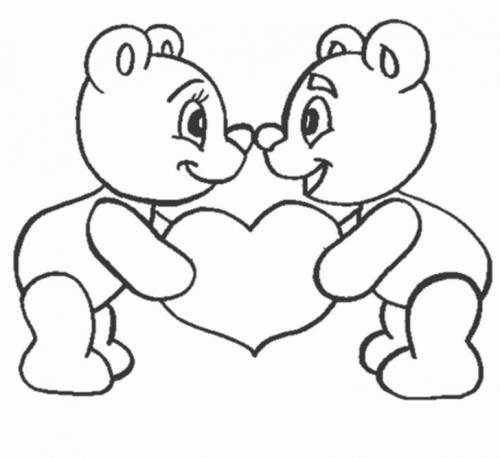 disegni san valentino da stampare