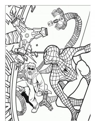 disegni spiderman