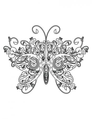 disegno di una farfalla