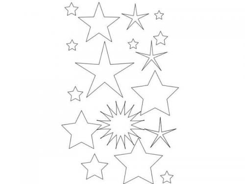 disegni stelline