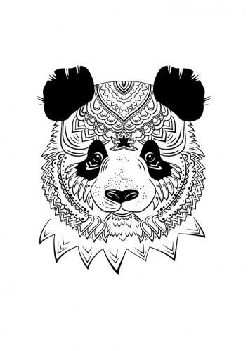 mandala panda