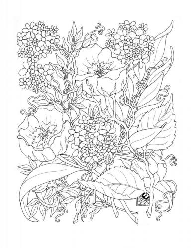 disegni stilizzati fiori