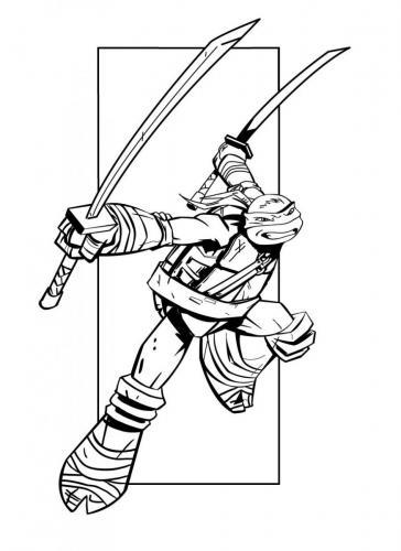 disegni tartarughe ninja