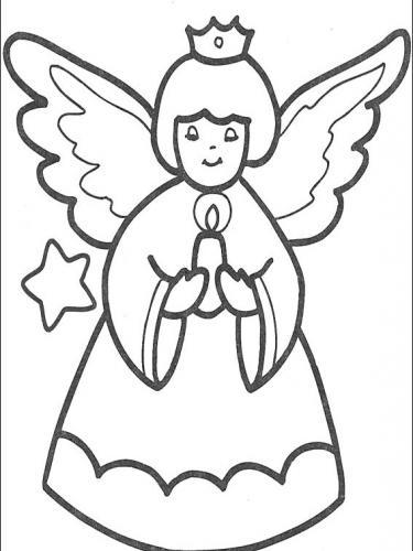 disegni angeli