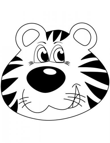 disegni tigre