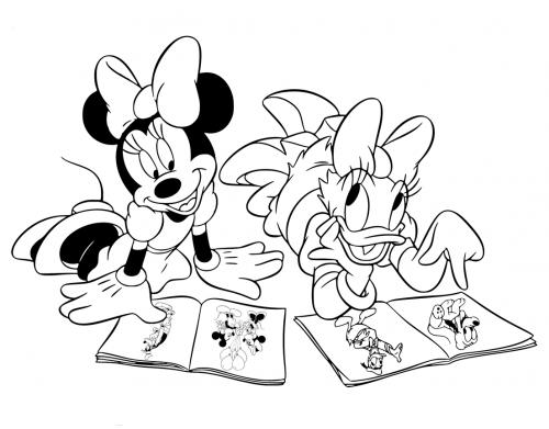 disegni topolina