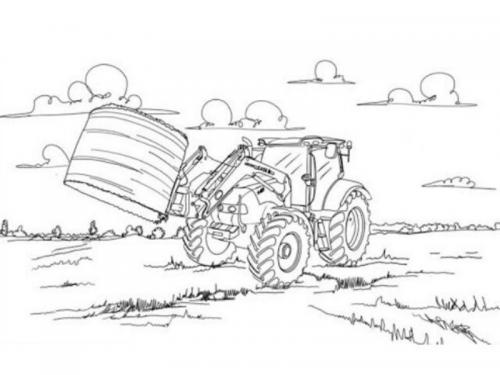 disegni trattore