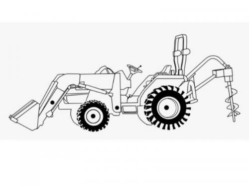 disegni trattori