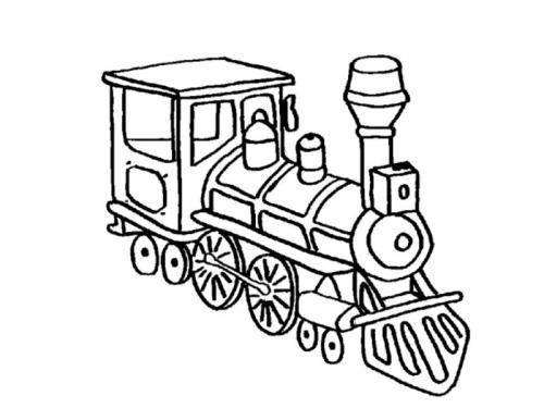 disegni treno