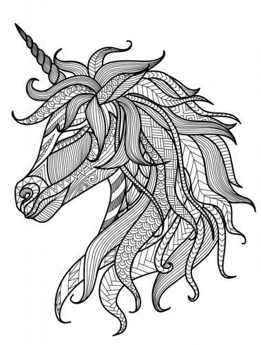 disegni unicorni