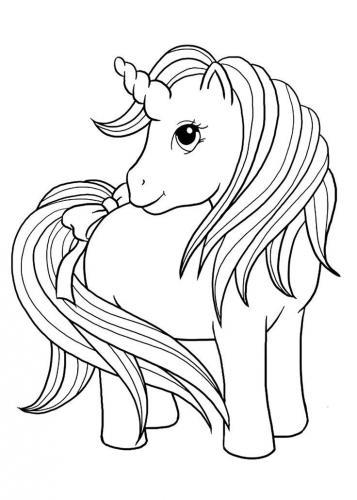 disegni unicorno
