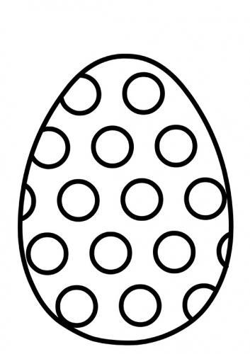 disegni uova di pasqua da colorare