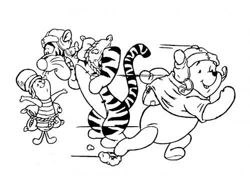disegni winnie the pooh da colorare
