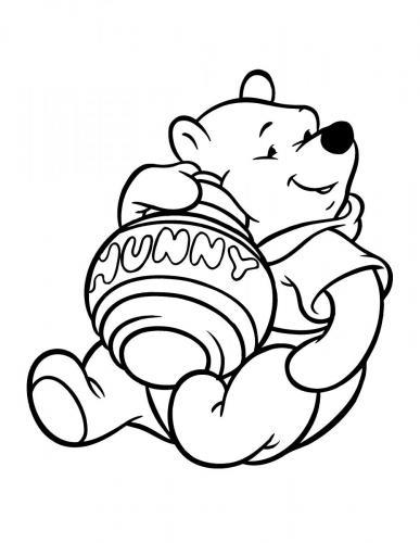 disegni winnie the pooh